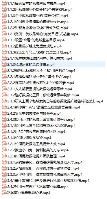 陈维贤私域商业盘操手培养计划第三期:从0到1梳理可落地的私域商业操盘方案插图(1)